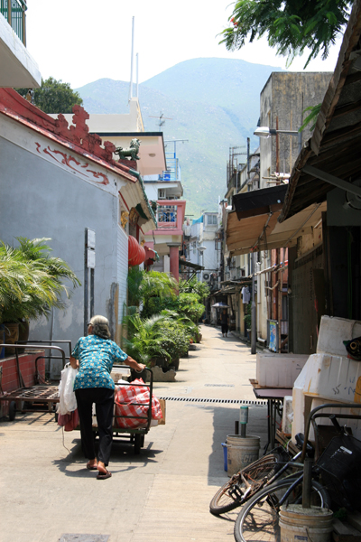 Lantau fishing village