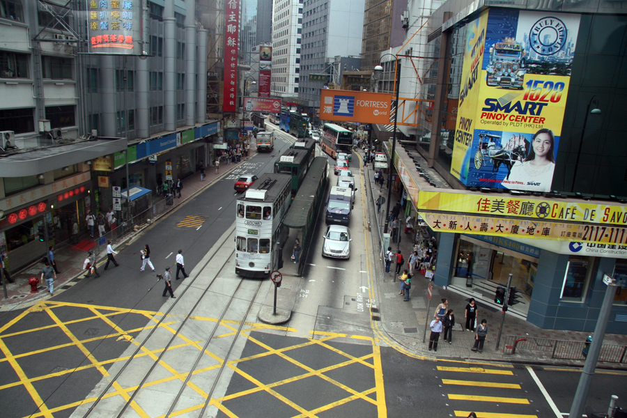 The mean streets of Hong Kong