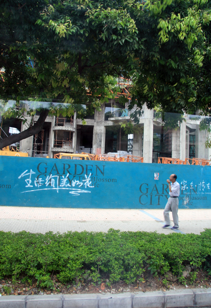 Construction in Guangzhou