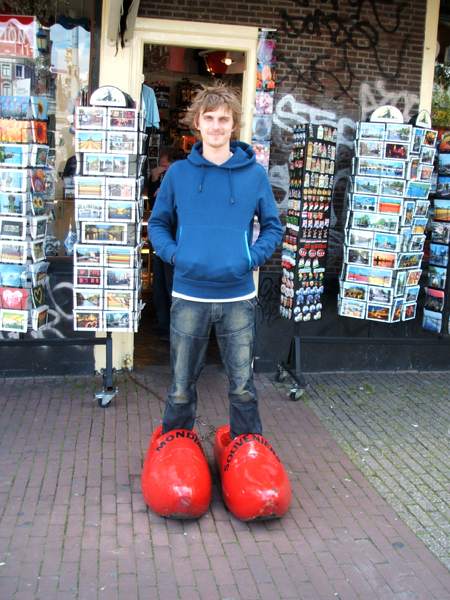 Whats a trip to Amsterdam without some novelty shoes