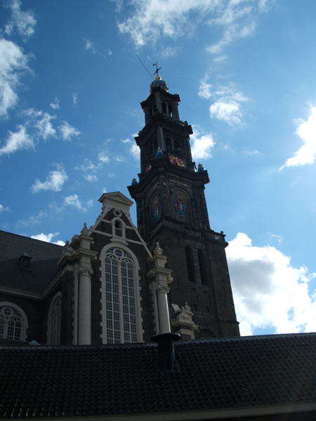 A Church near the Waterlooplein Market