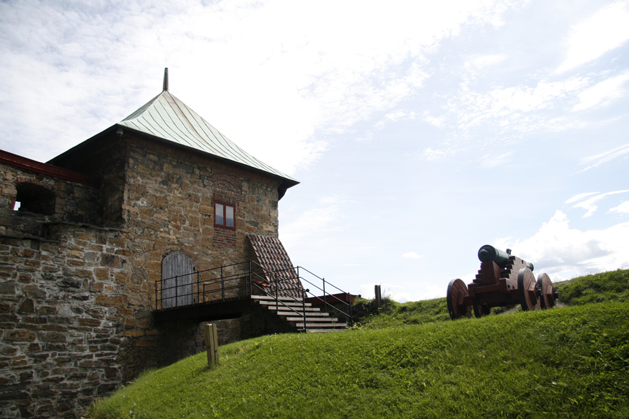 Old castle fort Oslo