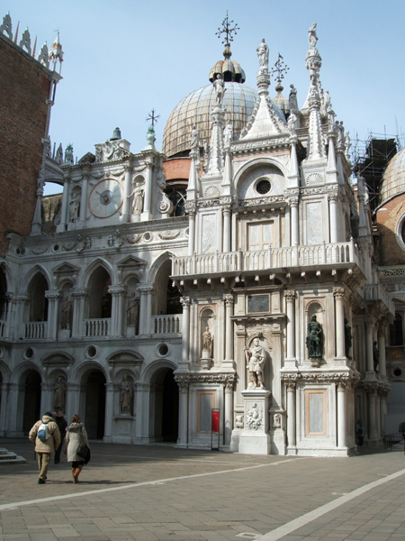 Doge Palace inner courtyard