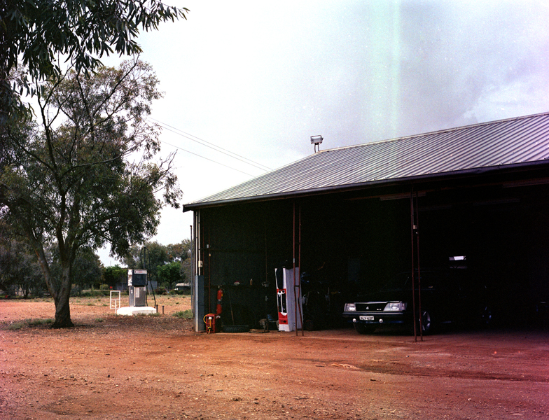 Fowlers Gap homestead garage