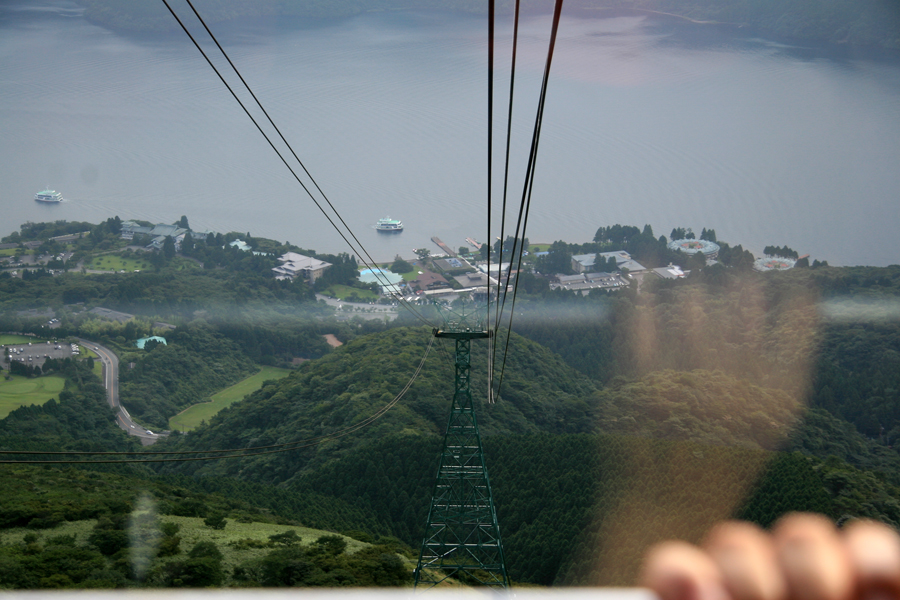 Scarey cable car, Komagatake