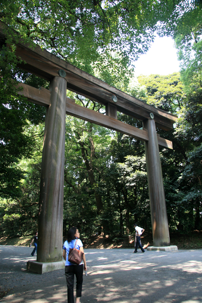 Gate to Meiji Shrine - Yoyogi Park