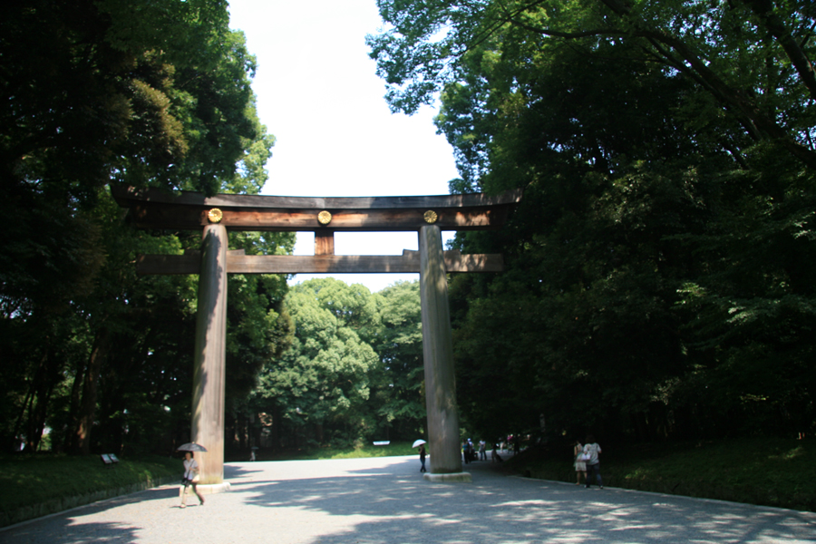 Garte to Meiji Shrine