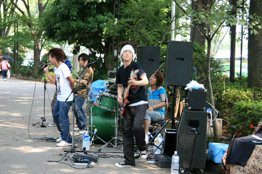 Battle of the Bands - Yoyogi Park