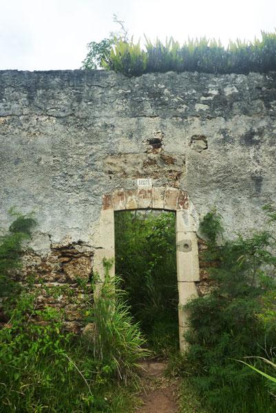 Penal Colony Ruins road entrance